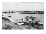 Asnieres, the Ferry at Levallois-Perret, circa 1900 Giclee Print