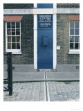 View of the Meridian Line Giclee Print by Christopher Wren