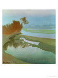 Landscape Giclee Print by Charles Marie Dulac
