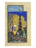 Two Lovers in a Flowering Orchard, circa 1540-50 Giclee Print