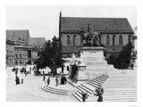 View of Schweidnitz, Breslau (Modern Day Wroclaw) Poland, circa 1910 Giclee Print by  Jousset