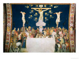 Calvary Gicle-tryk af Pietro Lorenzetti