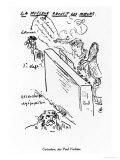 La Musique Adoucit Les Moeurs, Arthur Rimbaud (1854-91) Playing Piano Giclée-Druck von Paul Verlaine