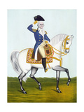 General Washington (1732-99) on a White Charger, circa 1835 Giclee Print