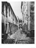 Rue Du Fer-A-Moulin, Paris, 1858-78 Giclee Print by Charles Marville