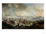 The Battle of Waterloo, 18th June 1815 Giclee Print by Denis Dighton