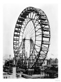 The Ferris Wheel at the World&#39;s Columbian Exposition of 1893 in Chicago Giclee Print