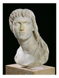 Bust of Cleopatra II (172-116 BC) or Her Daughter of Cleopatra III (141-101 BC) Giclee Print