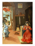 The Annunciation, circa 1534-35 Giclee Print by Lorenzo Lotto