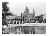 The River Isar at Munich, circa 1910 Premium Giclee Print by  Jousset