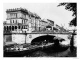The Belle-Alliance Bridge, Berlin, circa 1910 Giclee Print by  Jousset