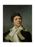 Portrait of Marat (1743-93) 1793 Giclee Print by Joseph Boze