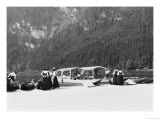 Boats at Konigssee, circa 1910 Giclee Print by  Jousset