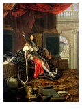 Portrait of Louis XIV (1638-1715) 1668 Giclee Print by Henri Testelin