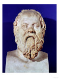 Bust of Socrates (470-399 BC) Giclee Print