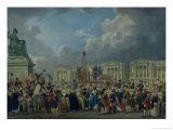 An Execution, Place De La Revolution, Between August 1793 and June 1794 Giclee Print by Pierre-Antoine Demachy