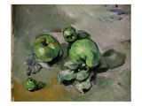 Green Apples, c.1872-73 Giclee Print by Paul Cézanne