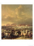 The Siege of Lille by Albert De Saxe-Tachen, 8th October 1792, 1845 Giclee Print by Hippolyte Lecomte