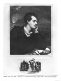 Portrait of Lord Byron (1788-1824) Giclee Print