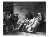 The Death of Cato of Utica (95-46 BC) 1797 Giclee Print by Pierre Narcisse Guérin