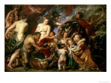 Minerva Protects Pax from Mars (Peace and War), 1629-30 Giclee Print by Peter Paul Rubens