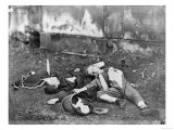 Children Killed by a Bombardment During the Siege of Paris, 1870-71 Giclee Print