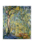 The Large Willow at Giverny, 1918 Giclée-tryk af Claude Monet