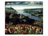 The Feeding of the Five Thousand Giclee Print by Joachim Patenir
