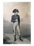 Napoleon Bonaparte (1769-1821) First Consul at Malmaison, from &quot;Livre Du Sacre,&quot; 1804 Giclee Print by Jean-Baptiste Isabey