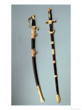 Commemorative Sword Given by Napoleon Bonaparte (1769-1821) Giclee Print by Nicolas Noel Boutet