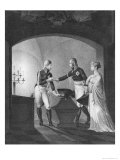 Near the Ashes of Friederick II the Great of Prussia (1712-86) Giclee Print by Ulrich Ludwig Wolf