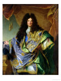 Portrait of Philippe De Courcillon (1638-1720) Marquis De Dangeau, 1702 Giclee Print by Hyacinthe Rigaud