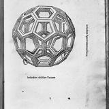 "Icosahedron, from ""De Divina Proportione"" by Luca Pacioli, Published 1509, Venice Giclée-Druck von  Leonardo da Vinci"
