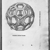Icosahedron, from &quot;De Divina Proportione&quot; by Luca Pacioli, Published 1509, Venice Giclee Print by Leonardo da Vinci 