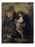 The Madman Giclee Print by Thomas Couture