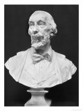 Bust of Auguste Vacquerie (1819-95) Giclee Print by Aime Jules Dalou
