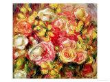Roses, 1915 Giclee Print by Pierre-Auguste Renoir