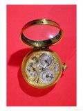 Calendar Watch, circa 1690 (Gilded Brass) Giclee Print