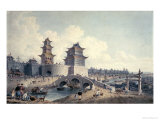 Pingze Men, the Western Gate of Peking Giclee Print by William Alexander
