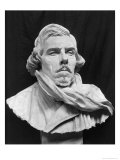 Bust of Eugene Delacroix (1798-1863) Giclee Print by Aime Jules Dalou