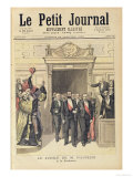"The Jubilee of Louis Pasteur (1822-95) at the Sorbonne, 27th December 1892, from ""Le Petit Journal"" Giclee Print by Henri Meyer"