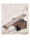Still Life with a Koto, circa 1810 Giclee Print by Ryuryukyo Shinsai