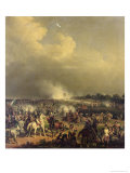 Battle of Boussu, 3rd November 1792, 1845 Giclee Print by Hippolyte Lecomte