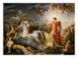 Allegory of the Surrender of Ulm, 20th October 1805 Giclee Print by Antoine Francois Callet