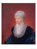 Caroline Herschel (1750-1848), 1829 Giclee Print by Martin Francois Tielemans