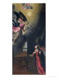 The Annunciation Giclee Print by Francesco Frigimelica