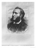 Portrait of Jules Ferry (1832-93) Engraved by J. Robert from a Photograph by M. Thiebault Giclee Print by Achille-Isidore Gilbert