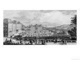 View of Chateau De Meudon Giclee Print by Jacques Rigaud