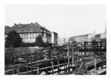 "View from ""Fischerinsel,"" Berlin, circa 1910 Giclee Print by  Jousset"
