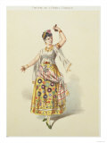 Galli Marie in the role of Carmen in 'Carmen' by Georges Bizet (1840-75) Giclee Print